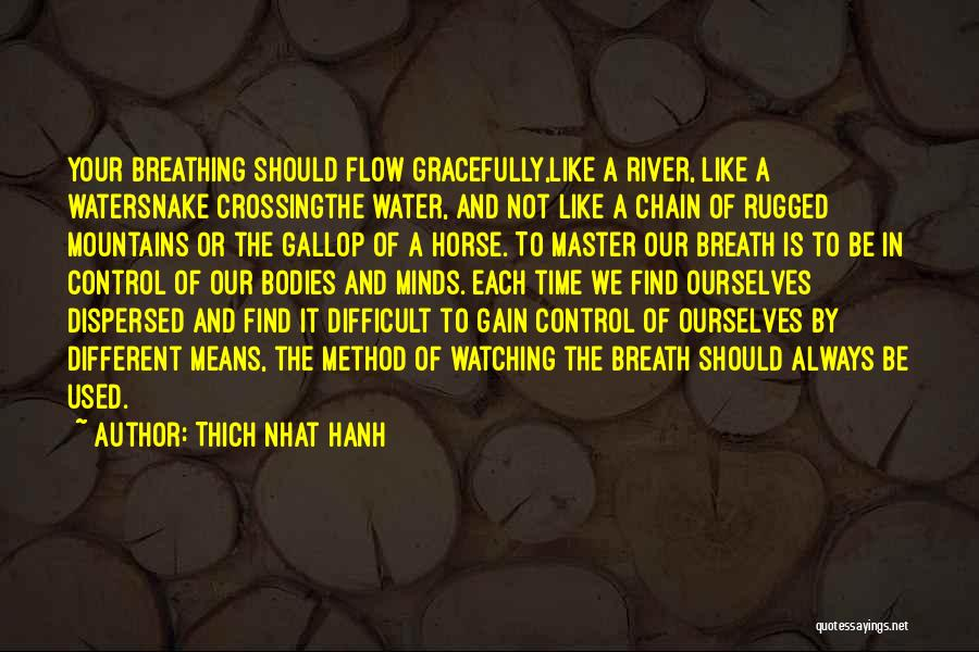 Crossing The River Quotes By Thich Nhat Hanh