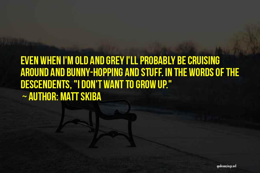 Cruising Around Quotes By Matt Skiba