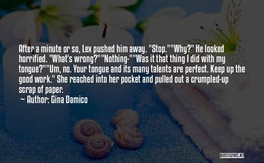 Crumpled Quotes By Gina Damico