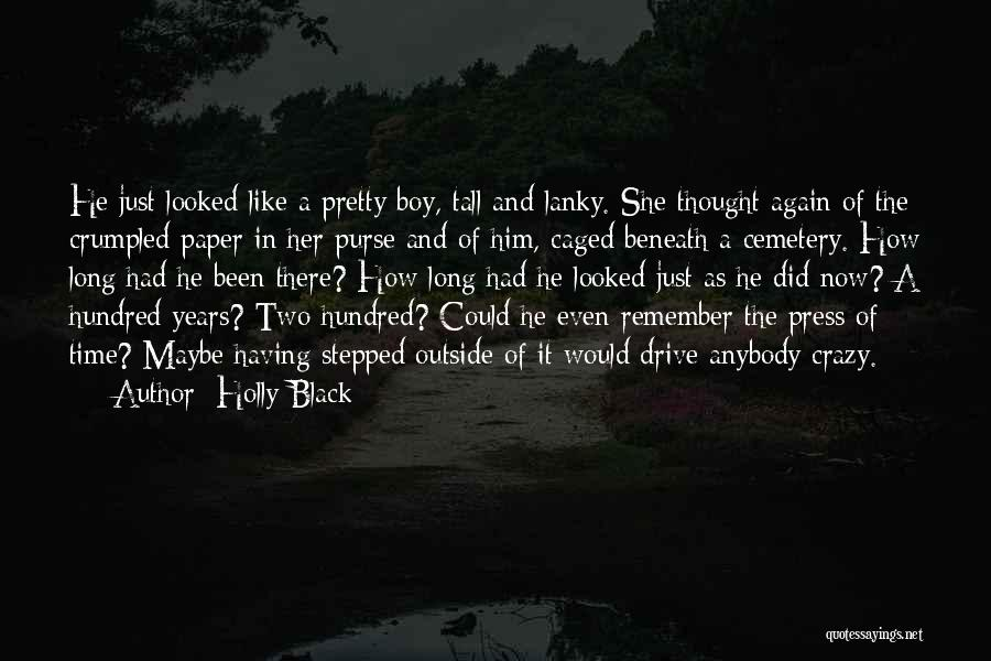 Crumpled Quotes By Holly Black