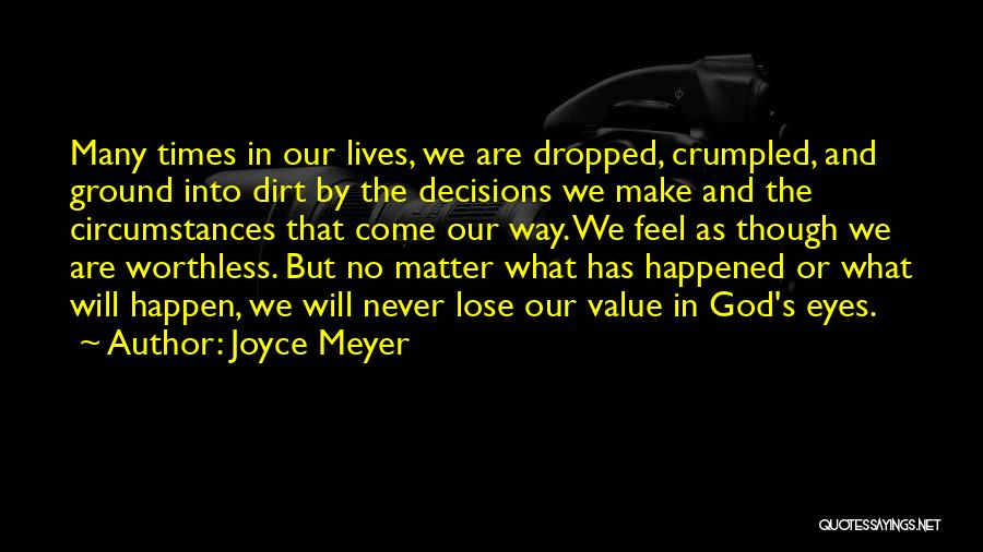 Crumpled Quotes By Joyce Meyer