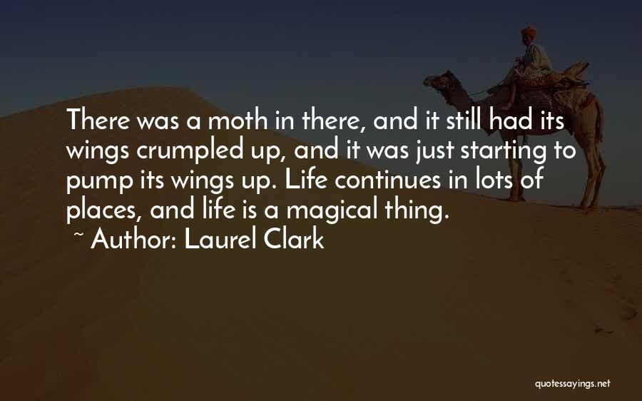 Crumpled Quotes By Laurel Clark