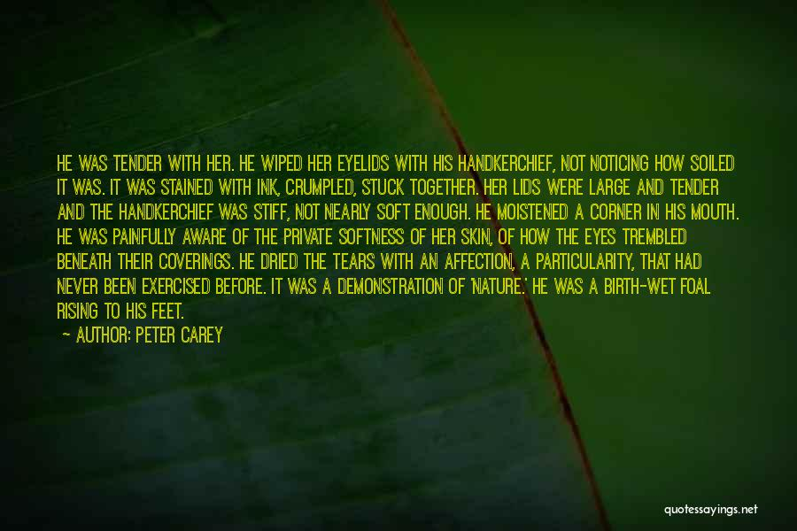 Crumpled Quotes By Peter Carey