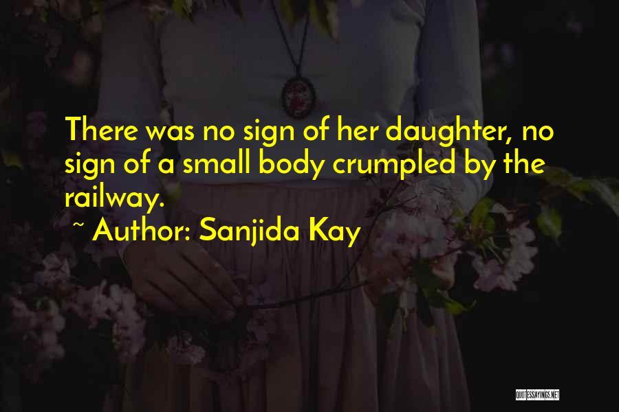 Crumpled Quotes By Sanjida Kay