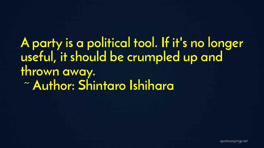 Crumpled Quotes By Shintaro Ishihara