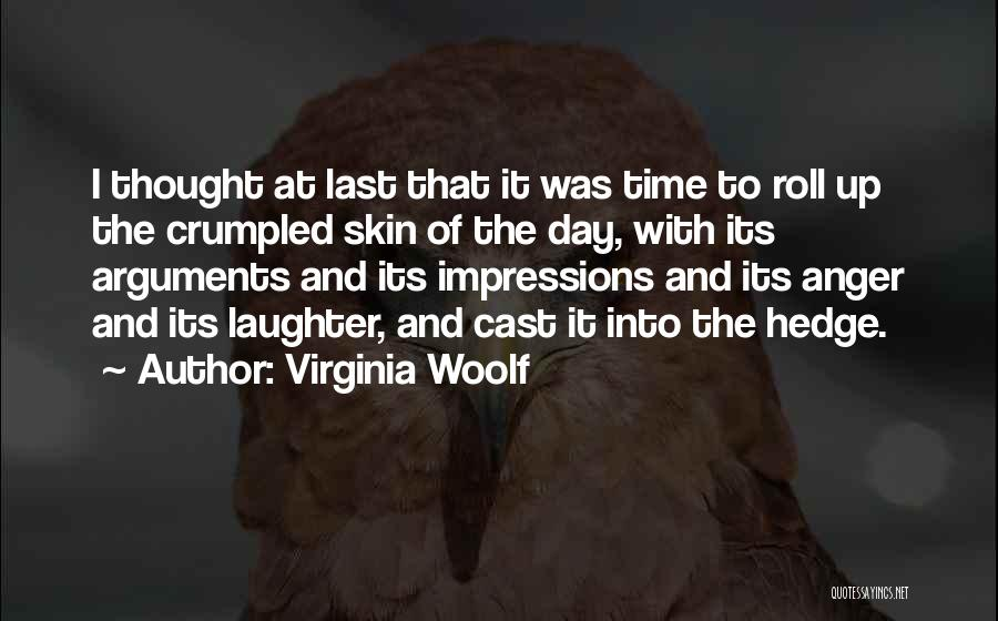 Crumpled Quotes By Virginia Woolf