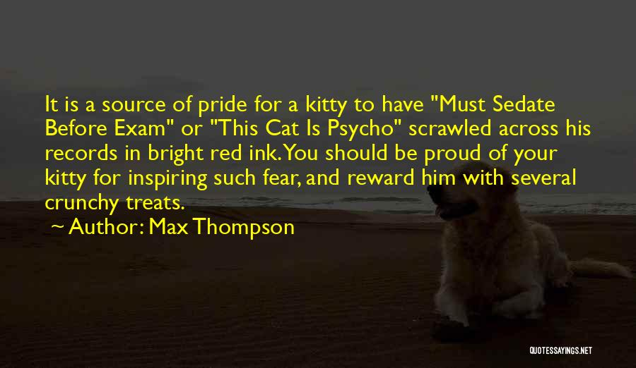 Crunchy Quotes By Max Thompson