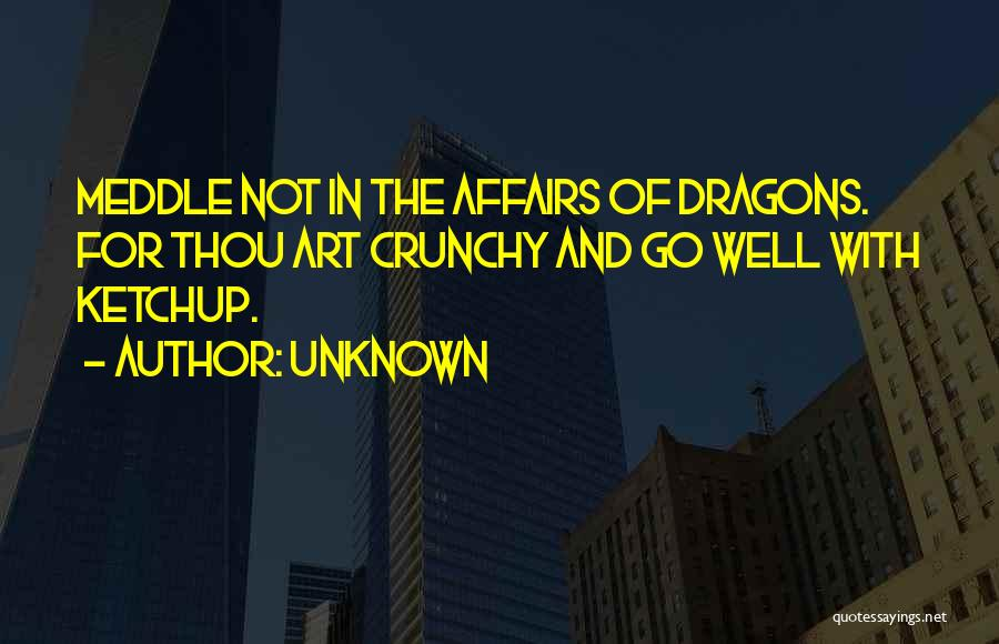 Crunchy Quotes By Unknown
