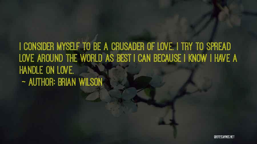 Crusader Quotes By Brian Wilson