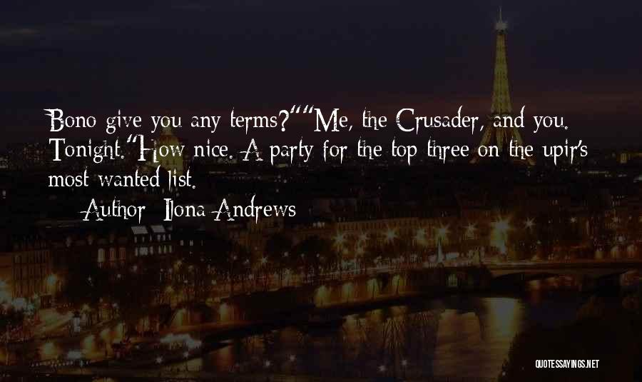 Crusader Quotes By Ilona Andrews