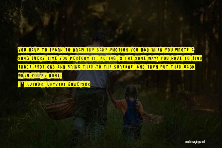 Crystal Bowersox Quotes 1121415