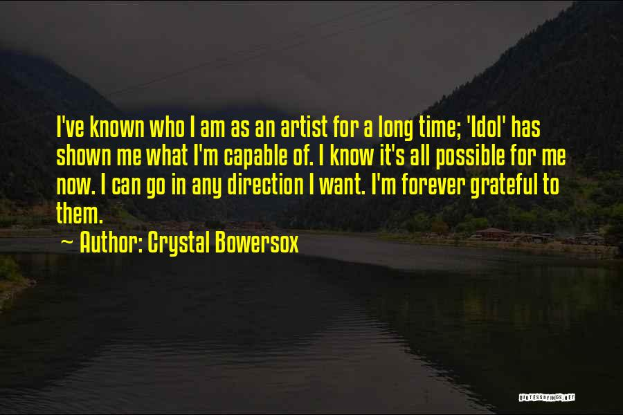 Crystal Bowersox Quotes 1317641