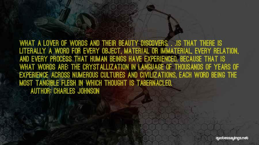 Crystallization Quotes By Charles Johnson