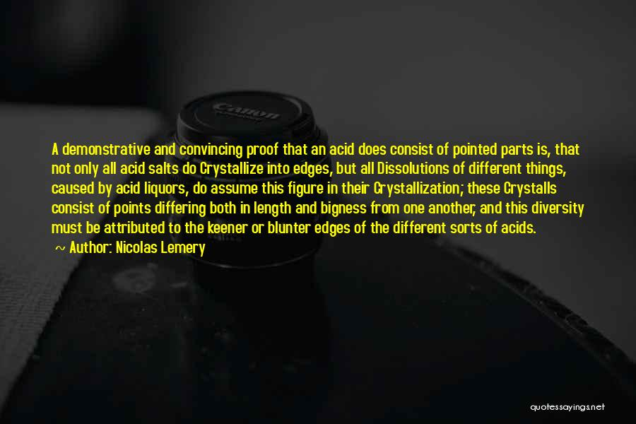 Crystallization Quotes By Nicolas Lemery