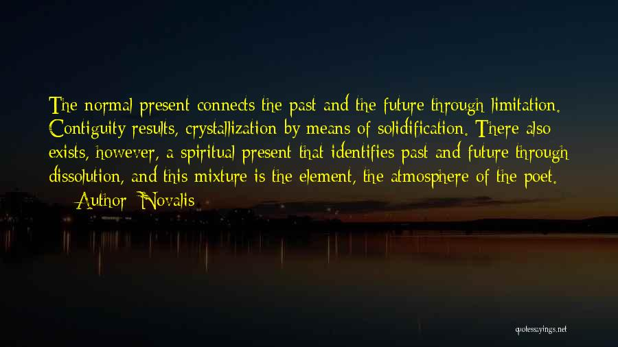 Crystallization Quotes By Novalis