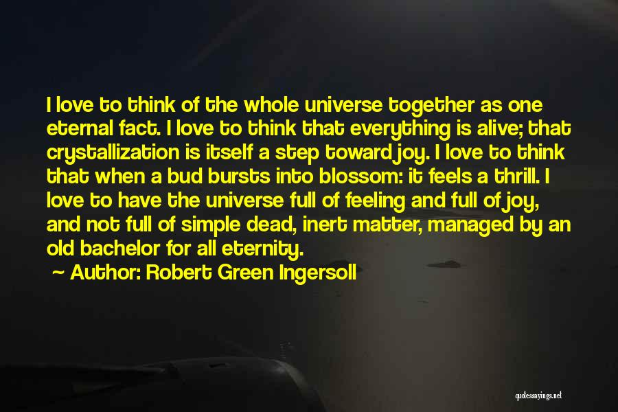 Crystallization Quotes By Robert Green Ingersoll