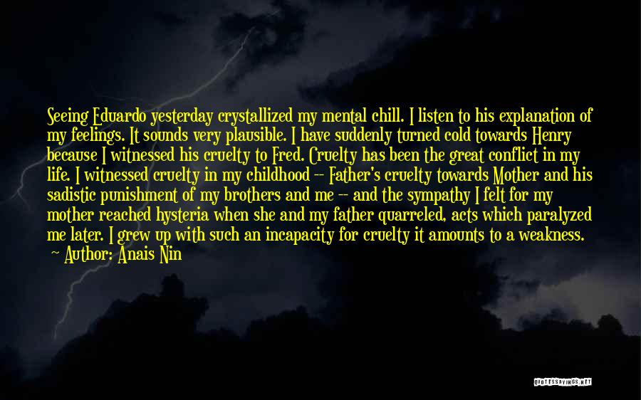 Crystallized Quotes By Anais Nin