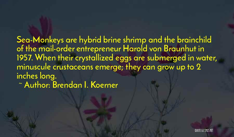 Crystallized Quotes By Brendan I. Koerner