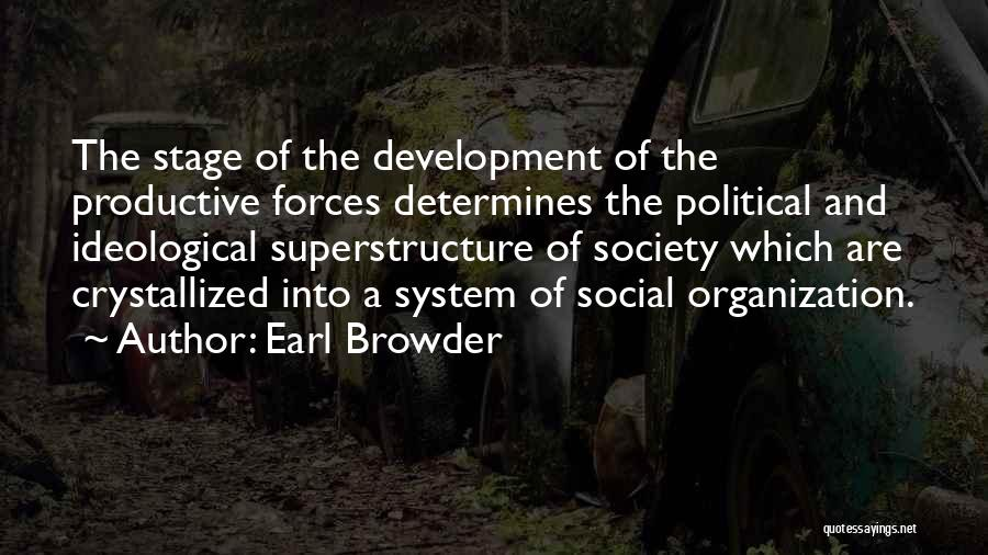 Crystallized Quotes By Earl Browder