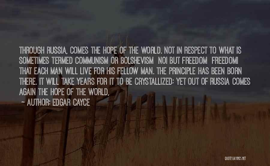 Crystallized Quotes By Edgar Cayce