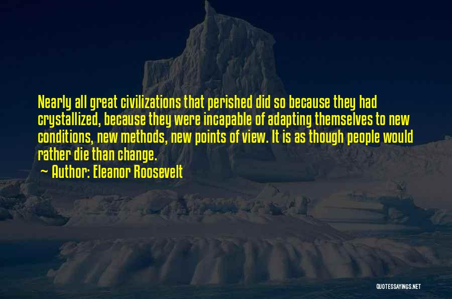 Crystallized Quotes By Eleanor Roosevelt