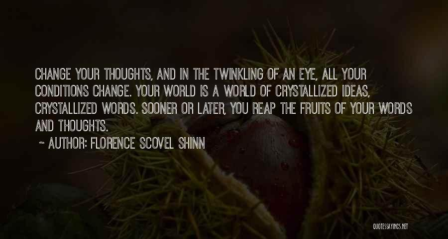 Crystallized Quotes By Florence Scovel Shinn