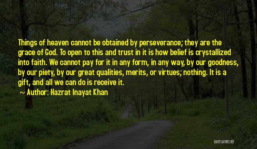Crystallized Quotes By Hazrat Inayat Khan