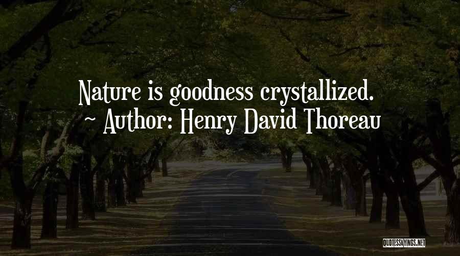 Crystallized Quotes By Henry David Thoreau