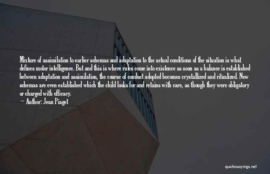 Crystallized Quotes By Jean Piaget