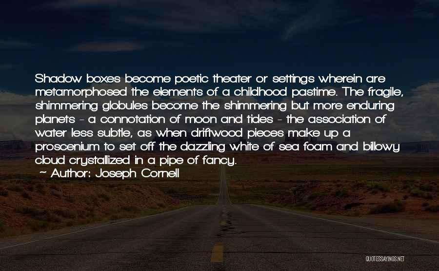 Crystallized Quotes By Joseph Cornell