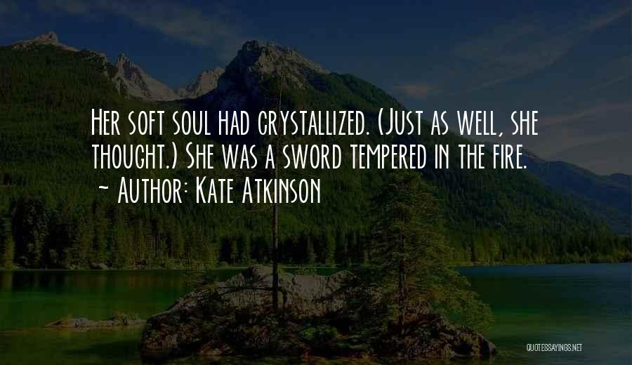 Crystallized Quotes By Kate Atkinson