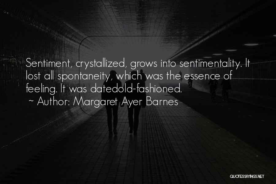 Crystallized Quotes By Margaret Ayer Barnes
