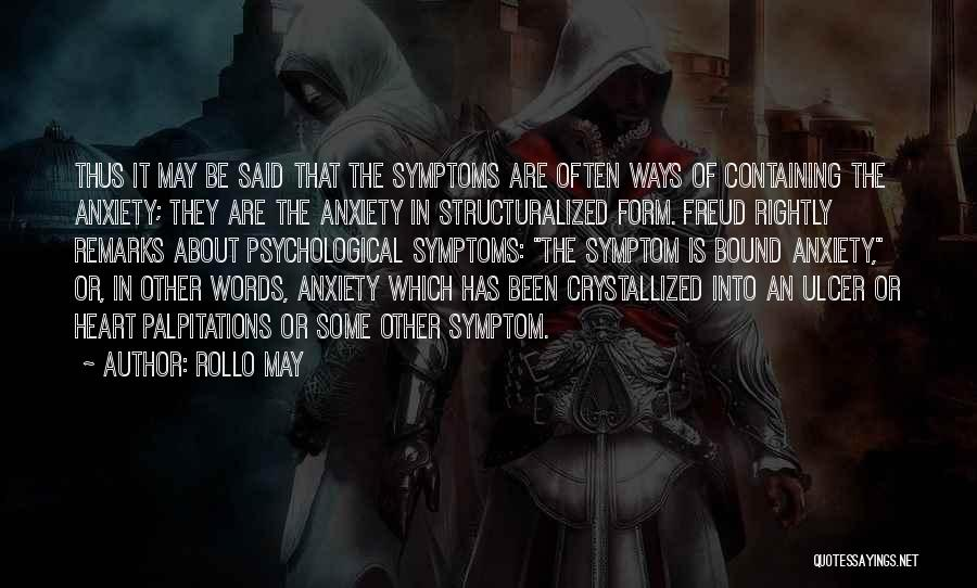 Crystallized Quotes By Rollo May