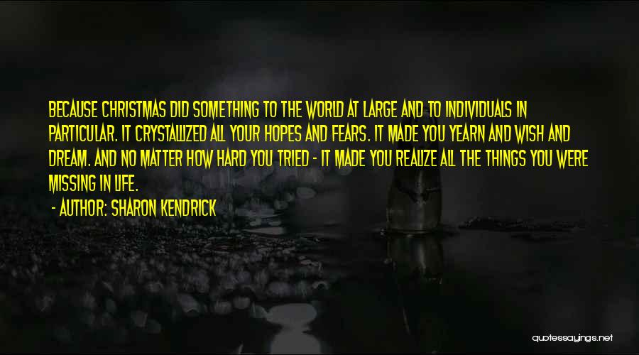 Crystallized Quotes By Sharon Kendrick