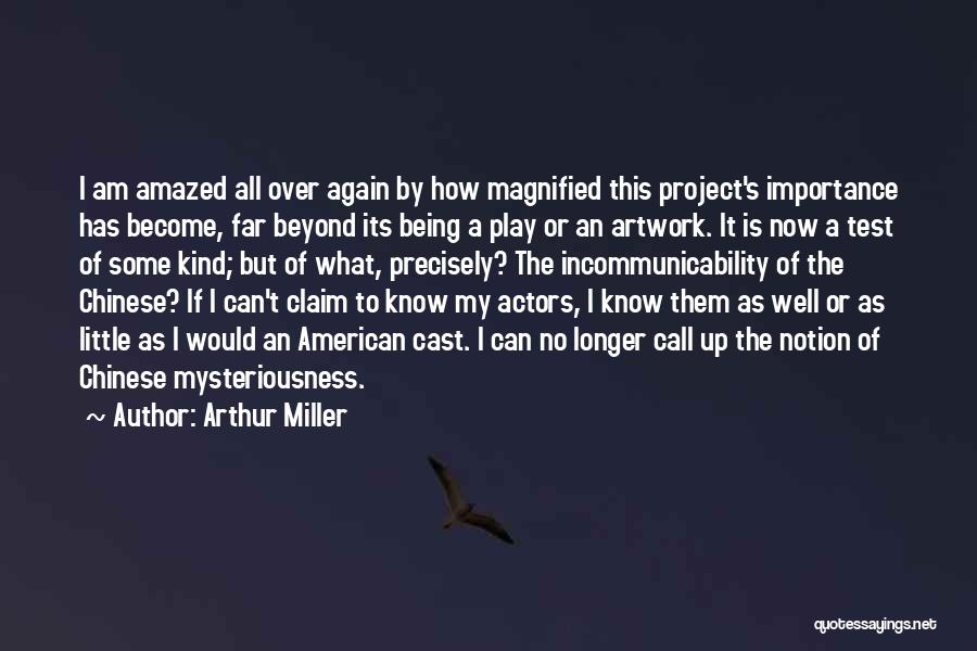 Cultural Understanding Quotes By Arthur Miller