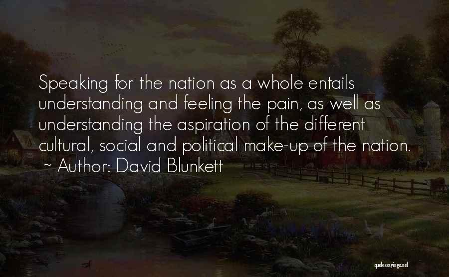 Cultural Understanding Quotes By David Blunkett
