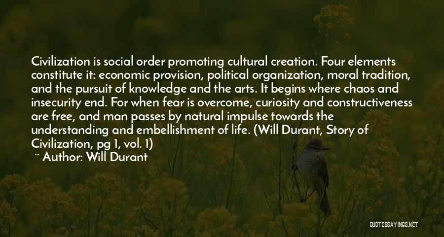 Cultural Understanding Quotes By Will Durant