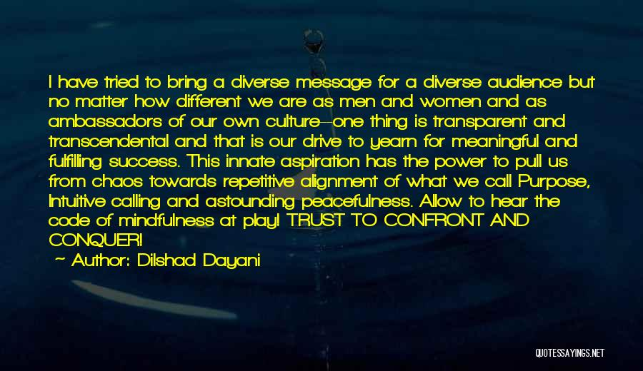 Culture And Diversity Quotes By Dilshad Dayani