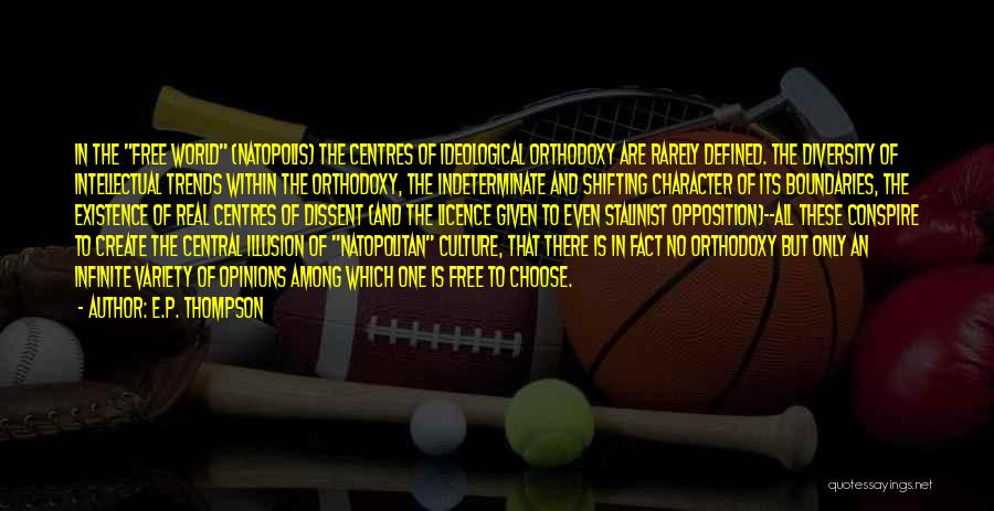 Culture And Diversity Quotes By E.P. Thompson
