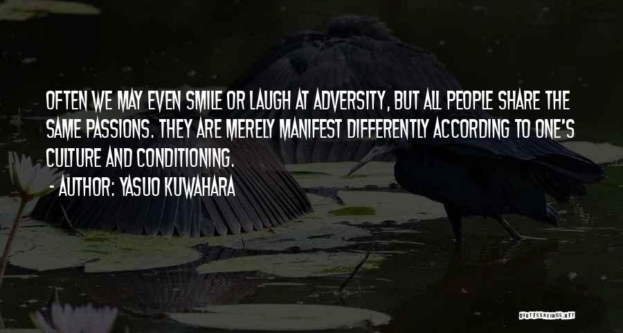 Culture And Diversity Quotes By Yasuo Kuwahara