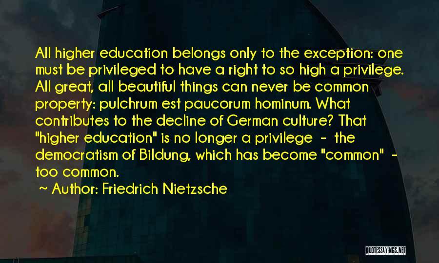 Culture In Decline Quotes By Friedrich Nietzsche