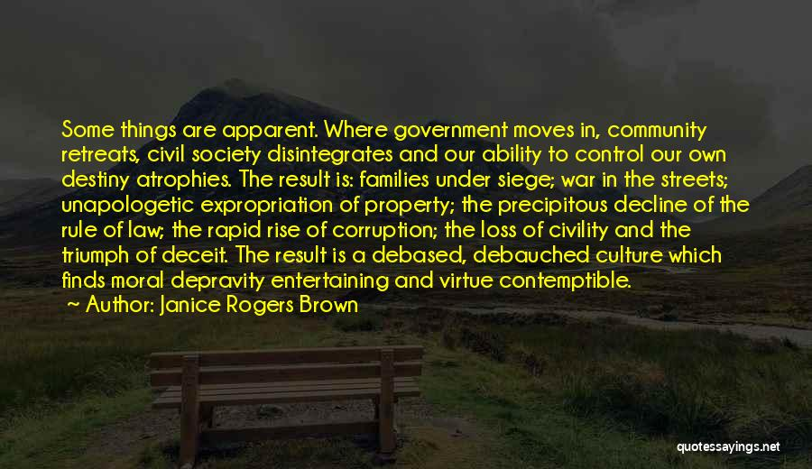 Culture In Decline Quotes By Janice Rogers Brown