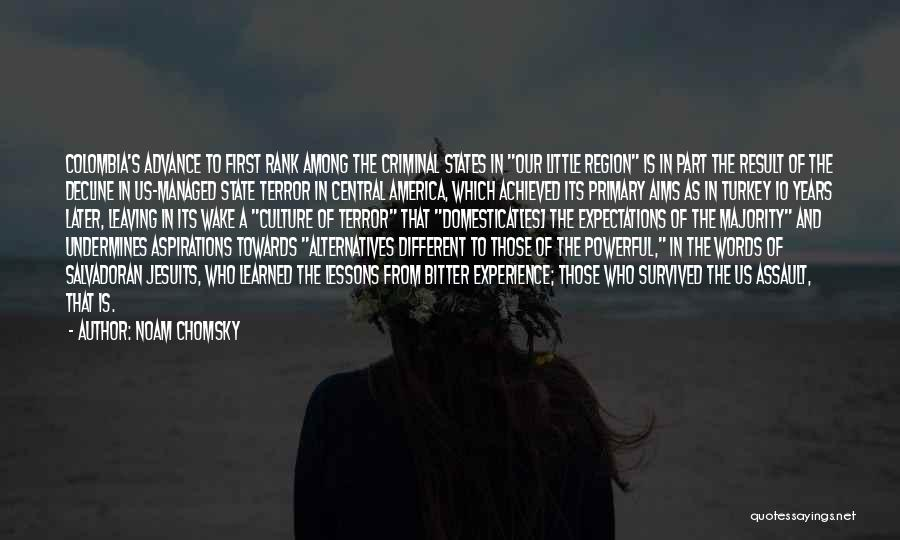 Culture In Decline Quotes By Noam Chomsky