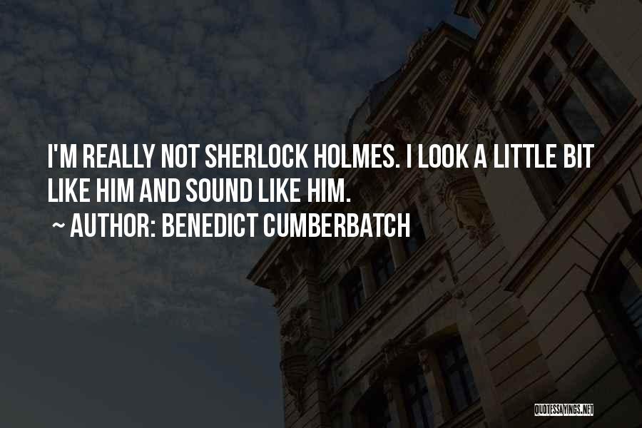 Cumberbatch Holmes Quotes By Benedict Cumberbatch