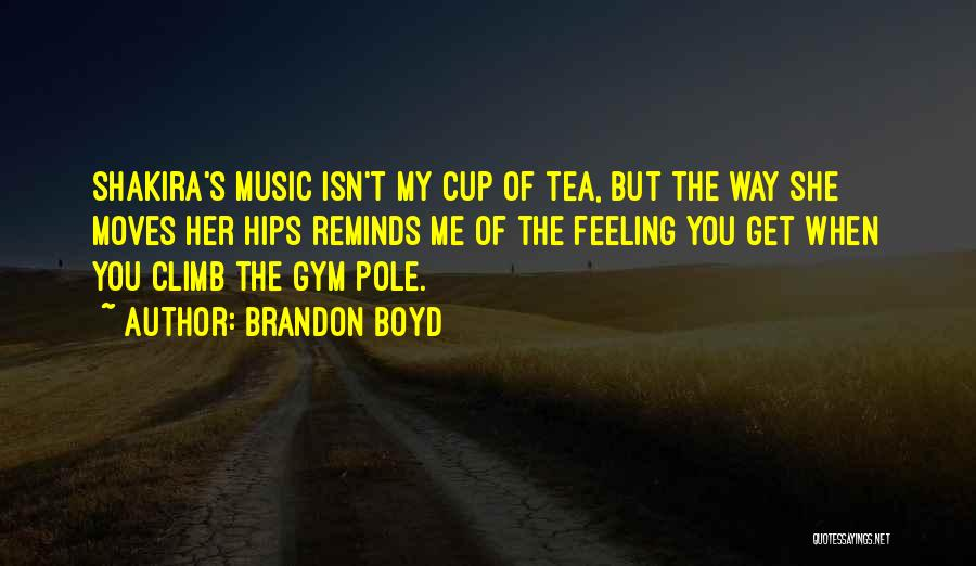 Cup Quotes By Brandon Boyd