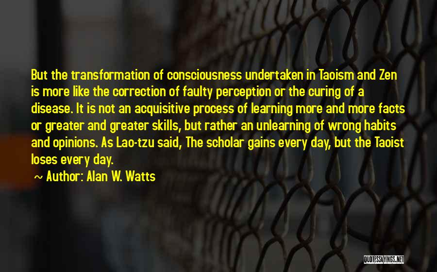 Curing Disease Quotes By Alan W. Watts