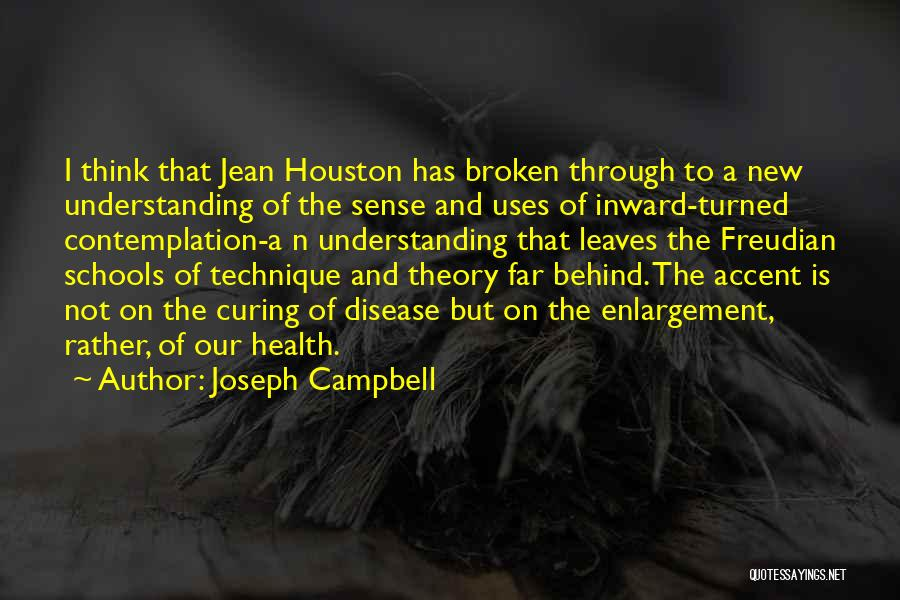 Curing Disease Quotes By Joseph Campbell
