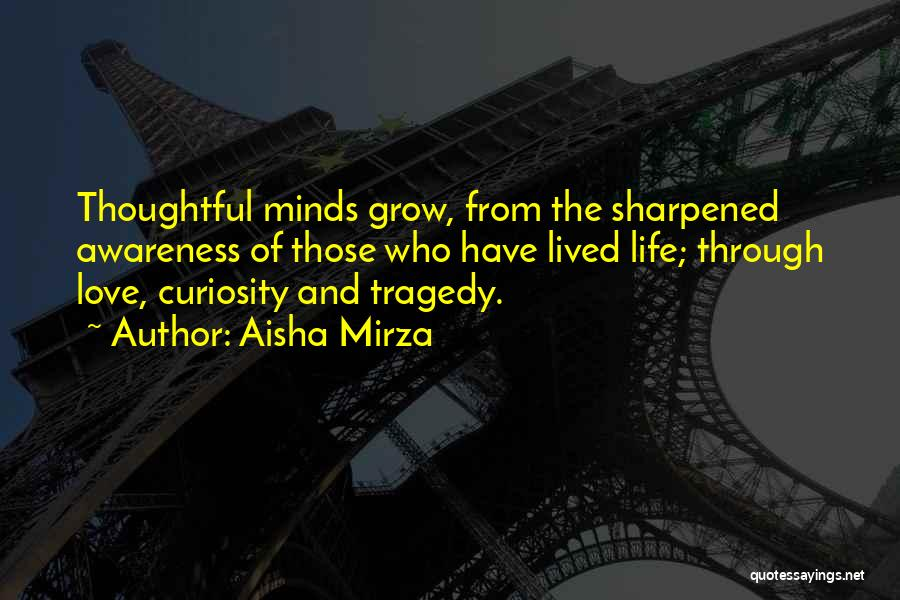 Curiosity And Love Quotes By Aisha Mirza