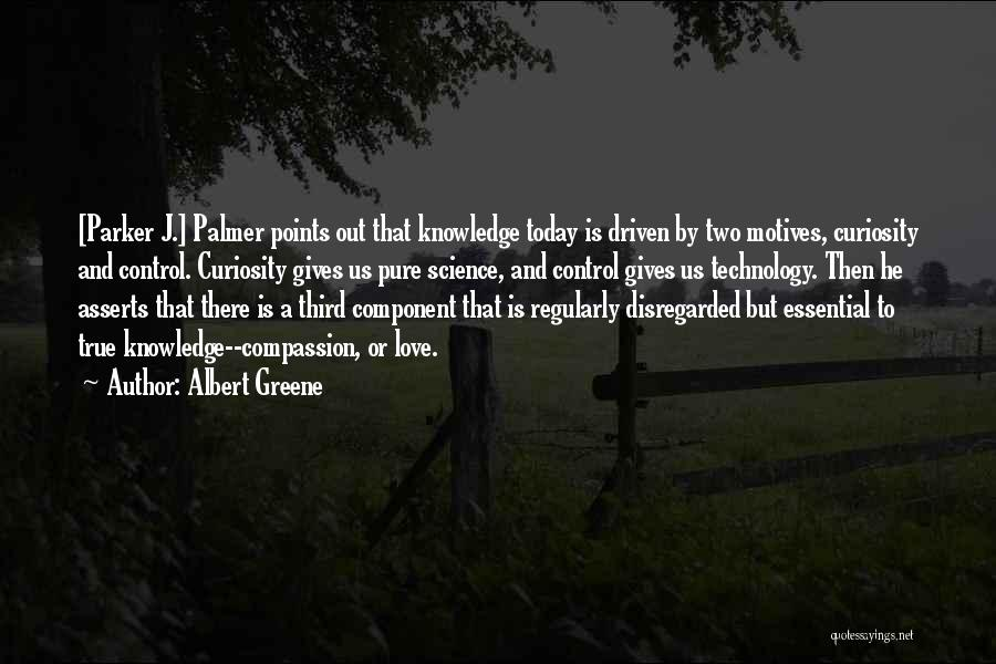 Curiosity And Love Quotes By Albert Greene