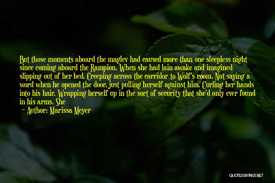 Curling Hair Quotes By Marissa Meyer